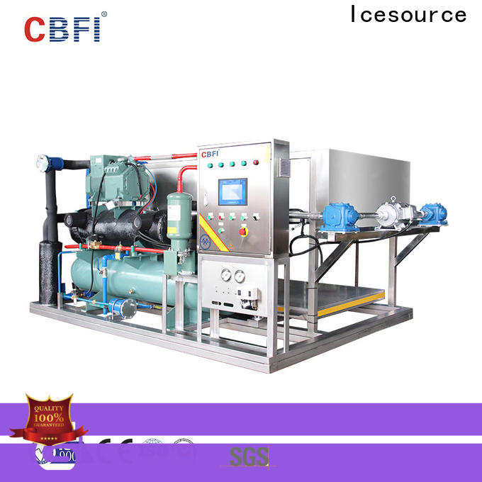 CBFI auto commercial ice machine reviews free design for vegetable storage