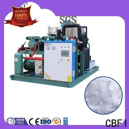 CBFI goods industrial flake ice machine certifications for aquatic goods