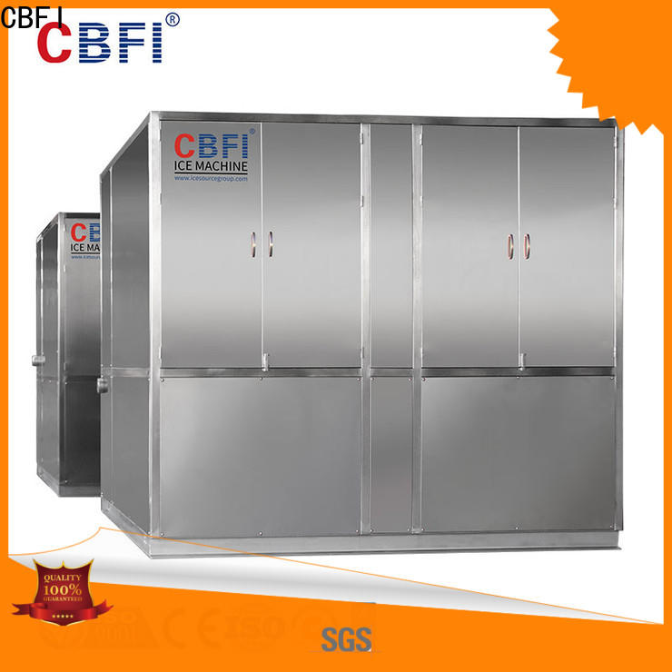 CBFI plate large ice machine bulk production for cocktail