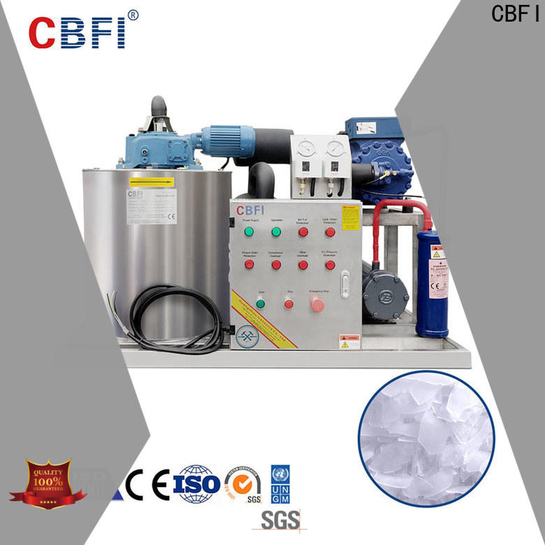 CBFI first-rate flake ice making machine vendor for food stores