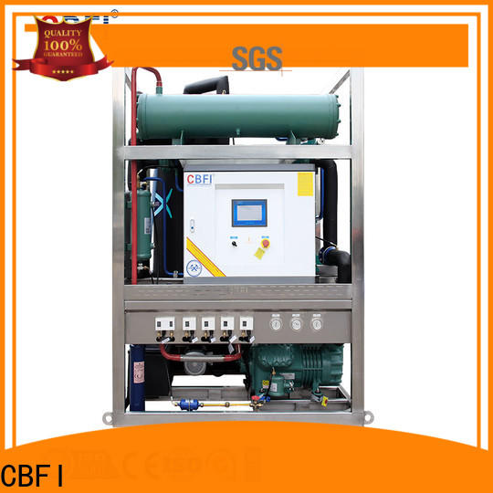 CBFI commercial portable ice maker manufacturer for aquatic goods