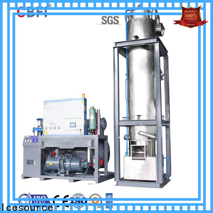 CBFI widely used pellet ice maker owner for wine cooling
