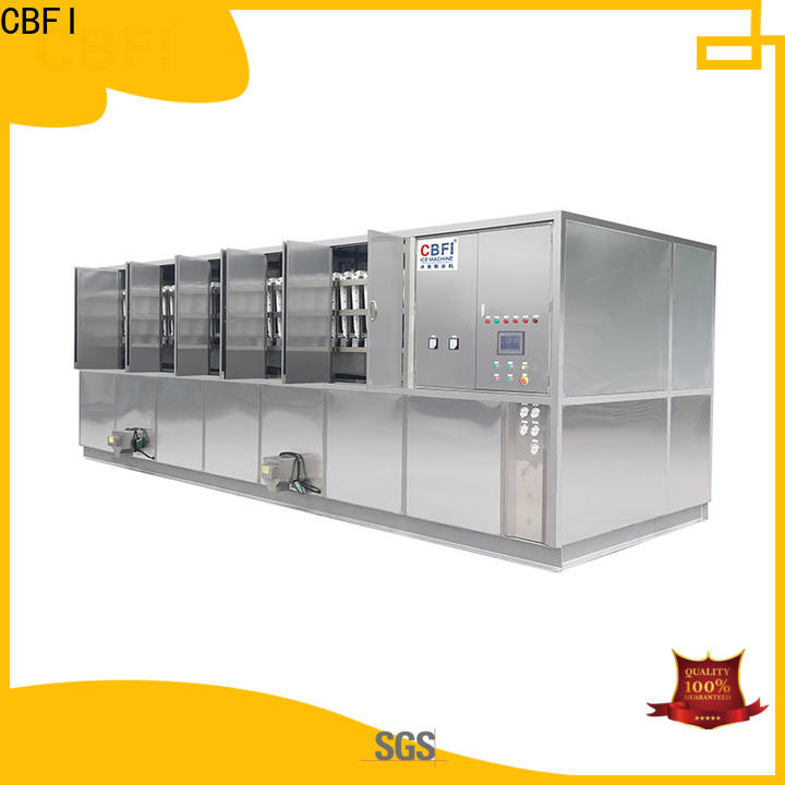 CBFI making cube ice machine from china for freezing