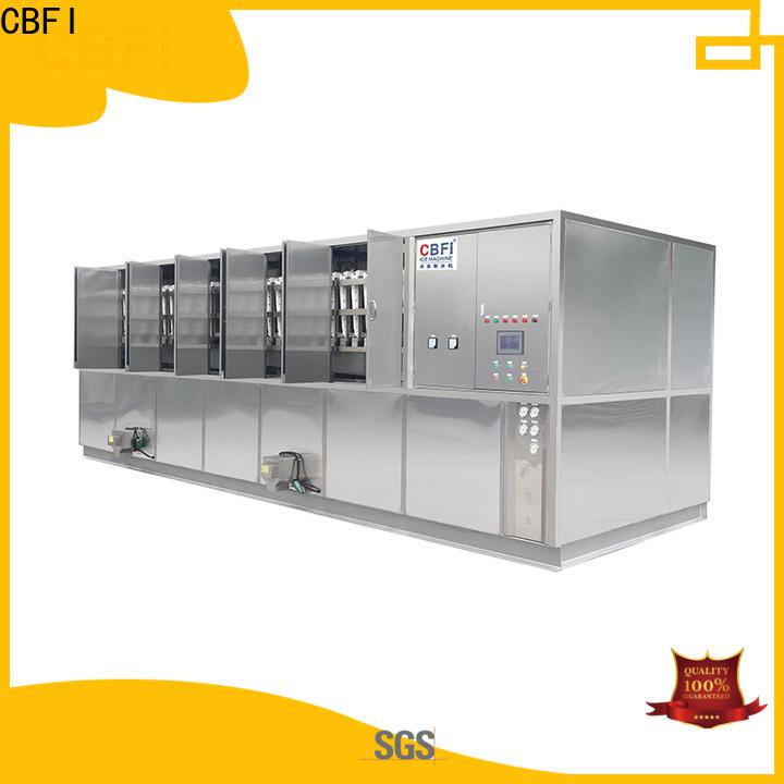 CBFI making cube ice machine from china for freezing