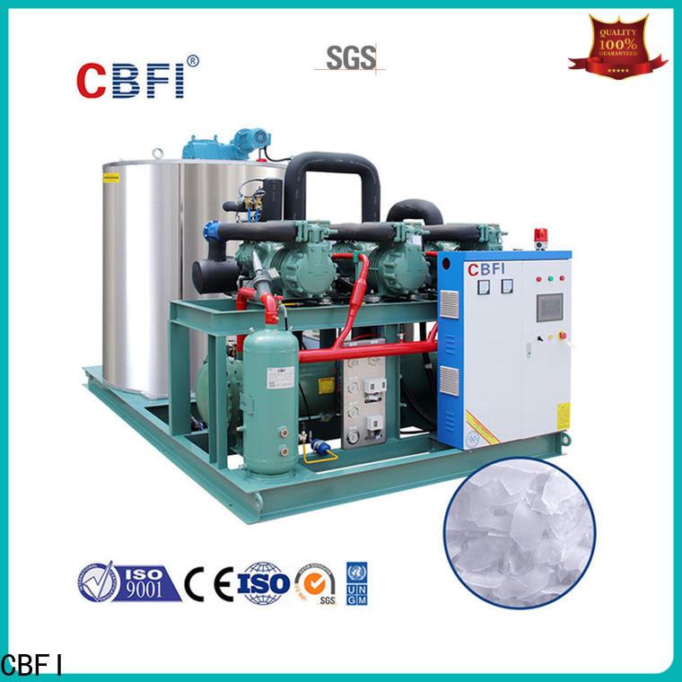 CBFI nice flake ice machine free design for water pretreatment