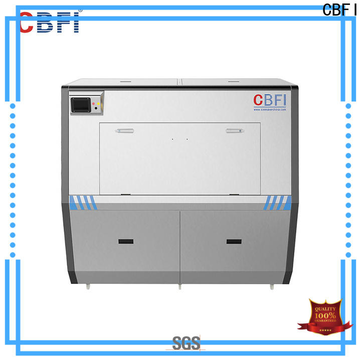 CBFI pure Pure Ice Machine free quote for ice sculpture shaping