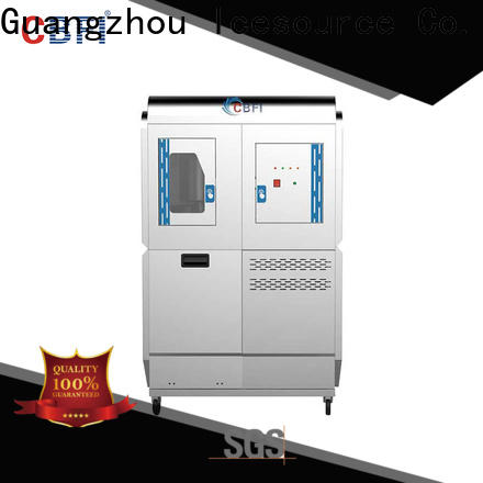 CBFI high-perfomance clear ice machine overseas market for aquatic goods