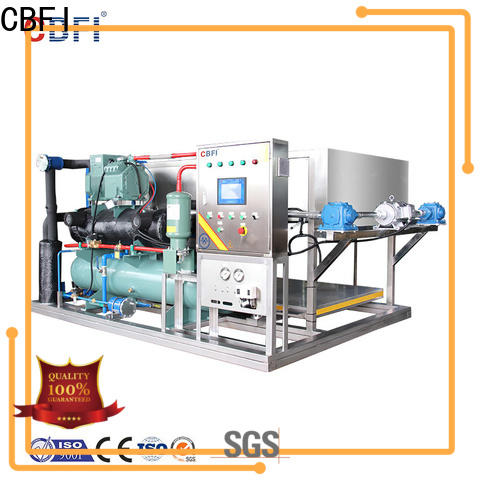 CBFI day bottled water ice maker from china for fruit storage