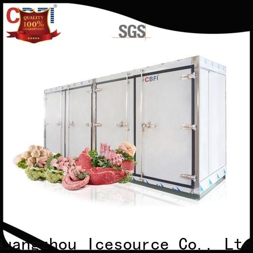 CBFI hot-sale blast freezer producer