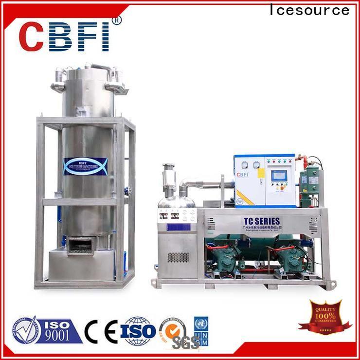 CBFI high-quality crushed ice maker manufacturer for restaurant