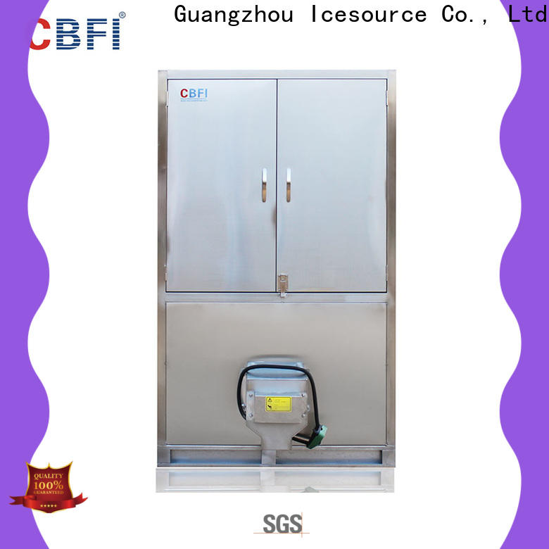 CBFI widely used commercial ice cube machine order now for freezing