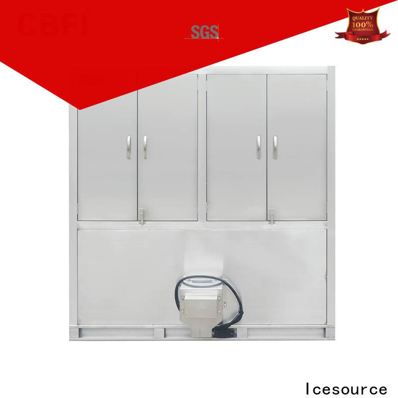 CBFI capacity industrial ice cube machine for fruit storage