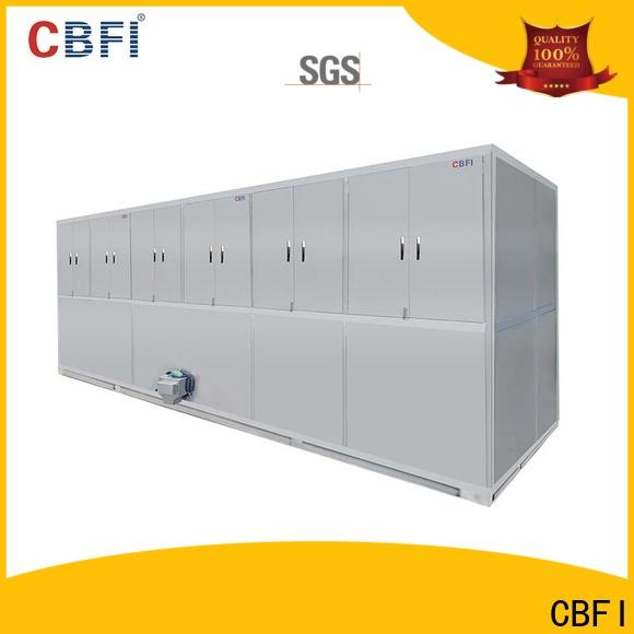 CBFI long-term used commercial ice cube machine for vegetable storage