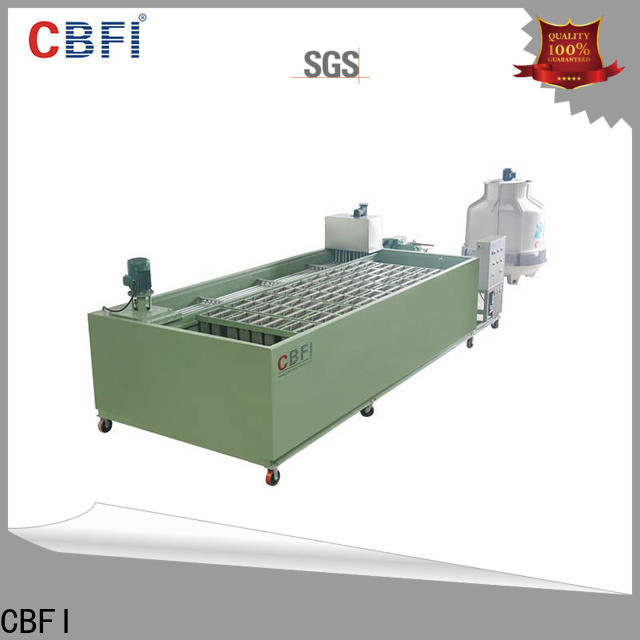 CBFI clear clear ice maker bulk production for whiskey