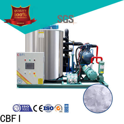 CBFI durable flake ice machine commercial free design for aquatic goods