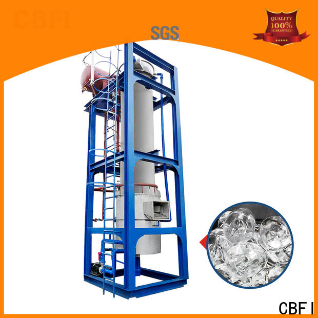 CBFI ammonia electric ice maker factory price for fish stores