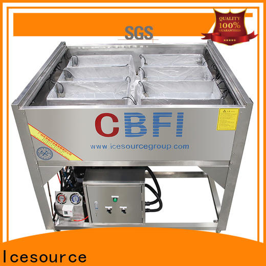 CBFI automatic pearl ice machine certifications for ice sculpture shaping