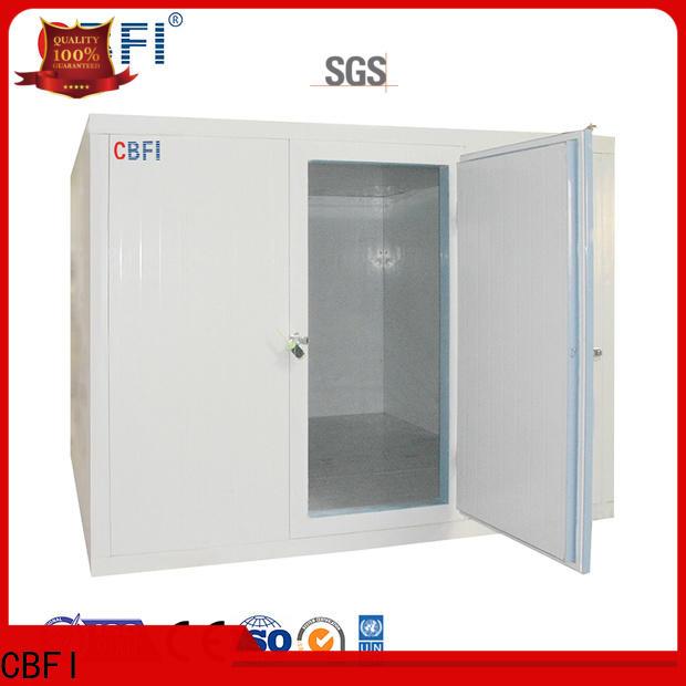 CBFI build a cold room free design for freezing