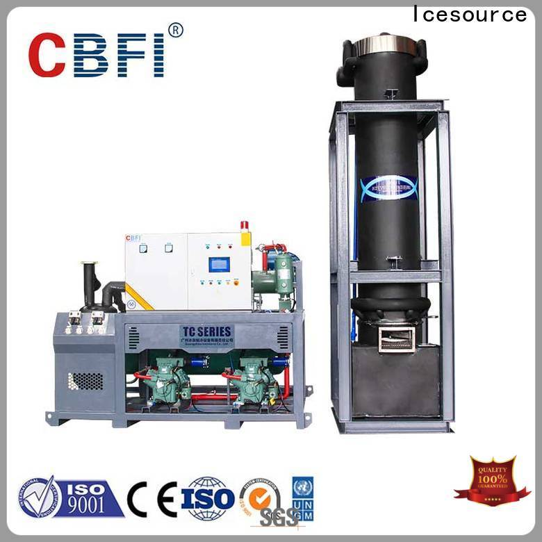 CBFI professional nugget ice machine producer for wine cooling