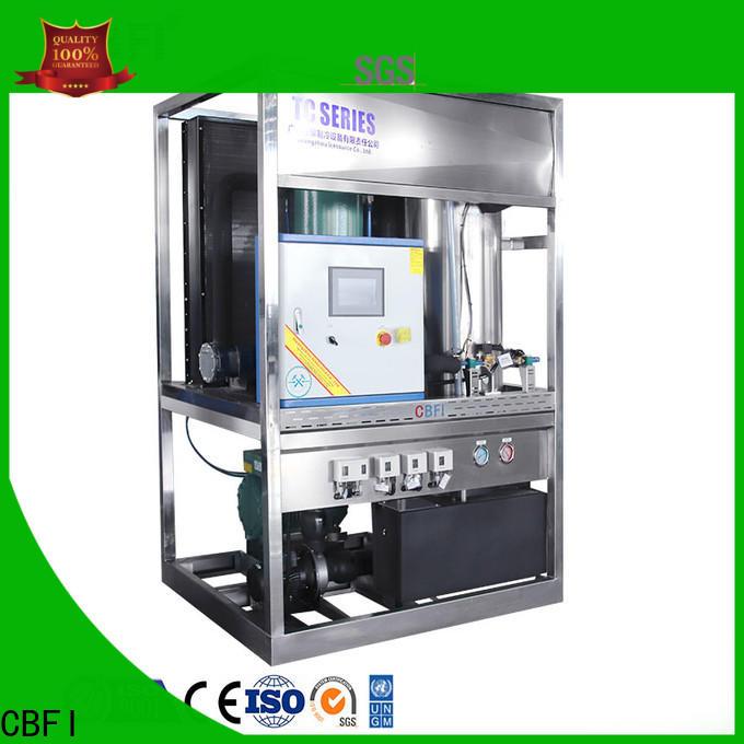 CBFI ice maker producer for aquatic goods