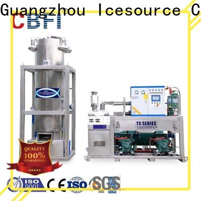 CBFI ice maker machine producer for aquatic goods