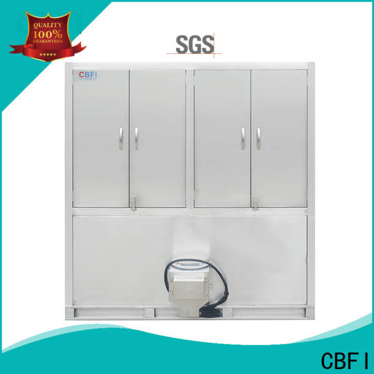CBFI control commercial ice cube machine newly for freezing