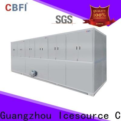 best industrial ice cube making machine maker factory price for fruit storage