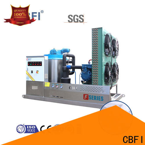 CBFI high-quality industrial flake ice machine vendor for food stores