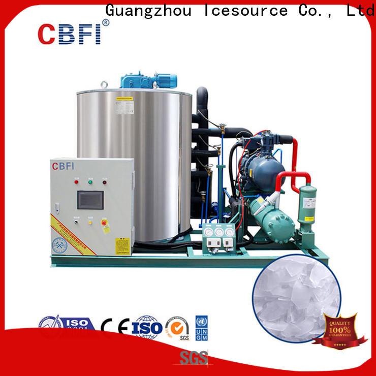 commercial industrial flake ice machine cbfi bulk production for aquatic goods