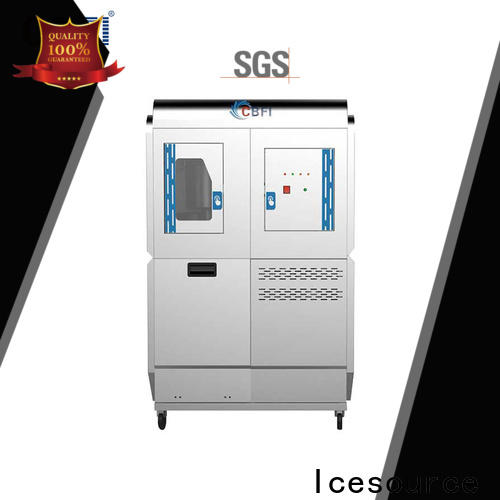 CBFI widely used ice machines plus range for concrete cooling