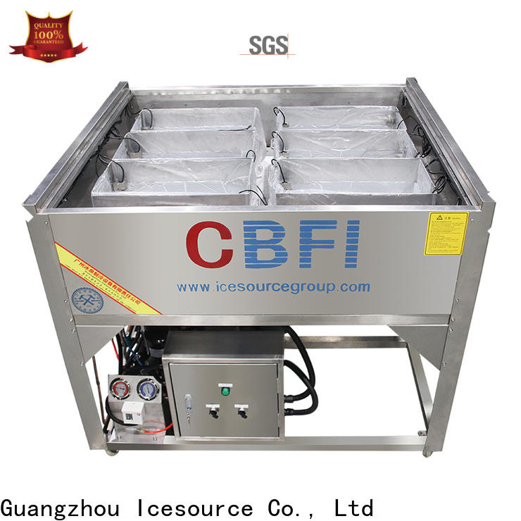 CBFI high-quality ice machine maintenance order now