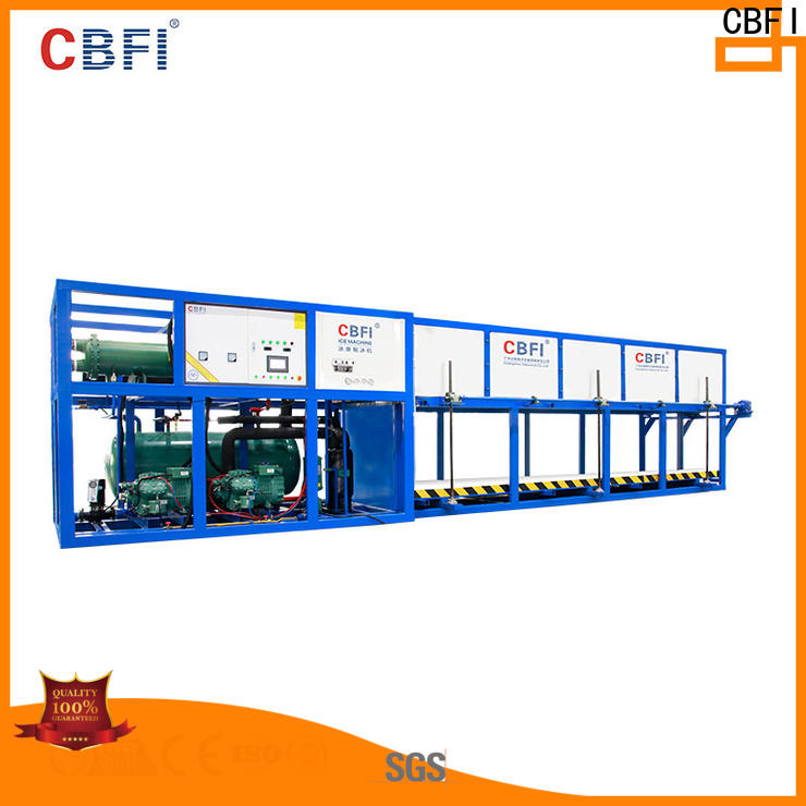 widely used direct cooling block ice machine tons manufacturer for fruit storage