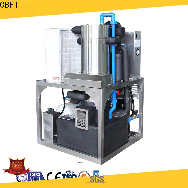 CBFI professional tube ice machine manufacturer for aquatic goods