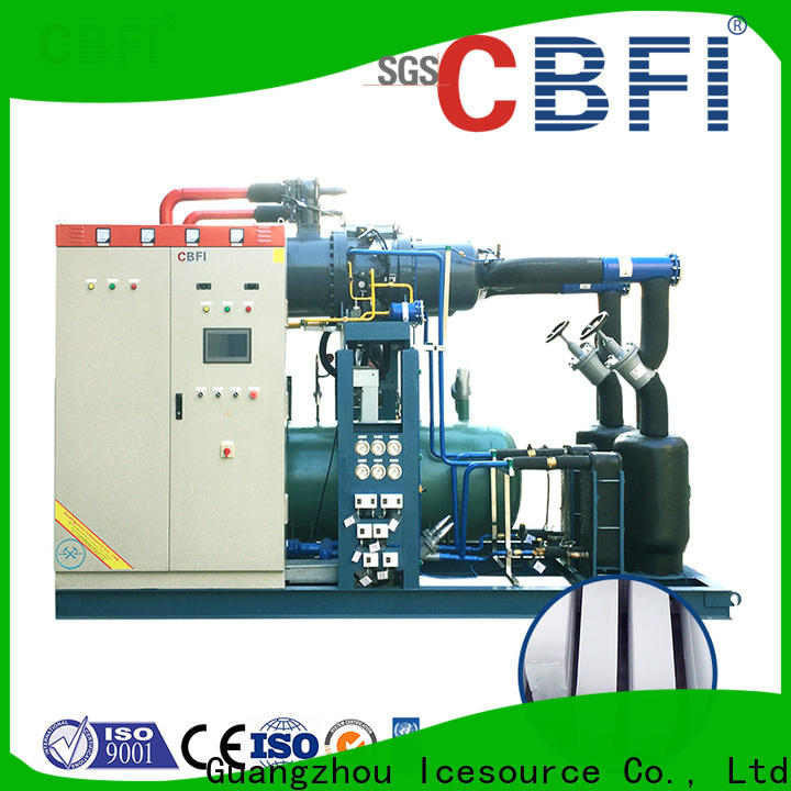 CBFI tubular ice maker manufacturing for cooling