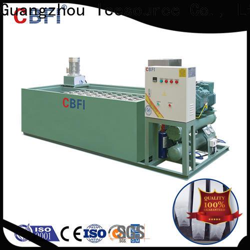 CBFI tubular ice maker plant for whiskey