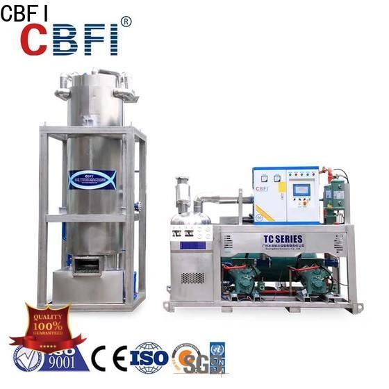 CBFI pellet ice maker bulk production for restaurant