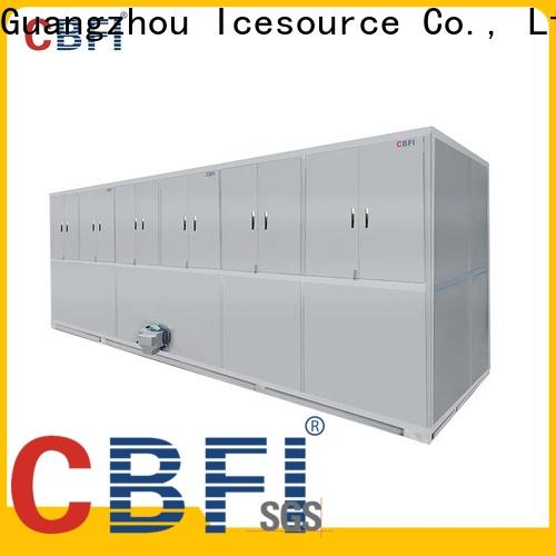 best industrial ice cube machine tons factory price for freezing