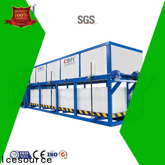 large capacity ice maker plant cbfi customized for freezing