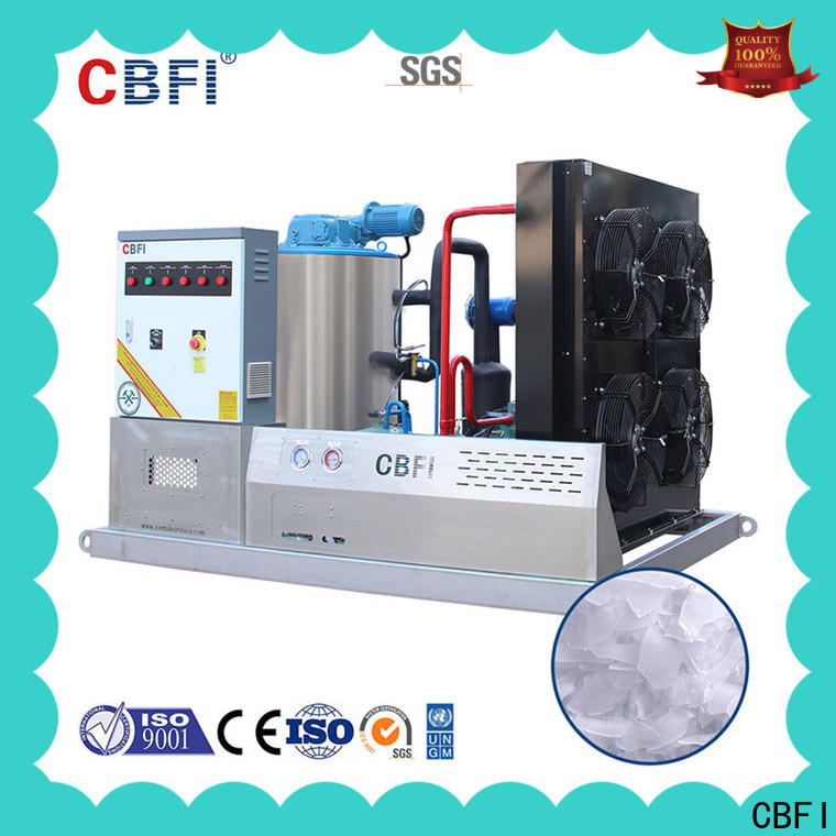 CBFI commercial ice flaker machine price vendor for supermarket