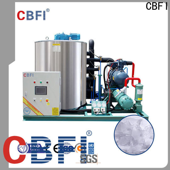 newly flake ice making machine making certifications for supermarket
