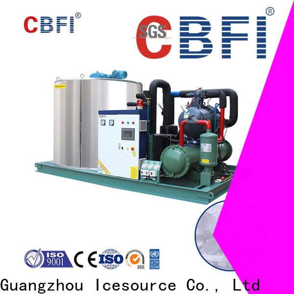 CBFI fine- quality flake ice machine for sale vendor for water pretreatment