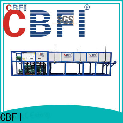 CBFI high-quality direct cooling block ice machine from china for vegetable storage