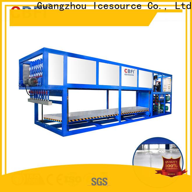CBFI cooling block ice machine maker newly for fruit storage