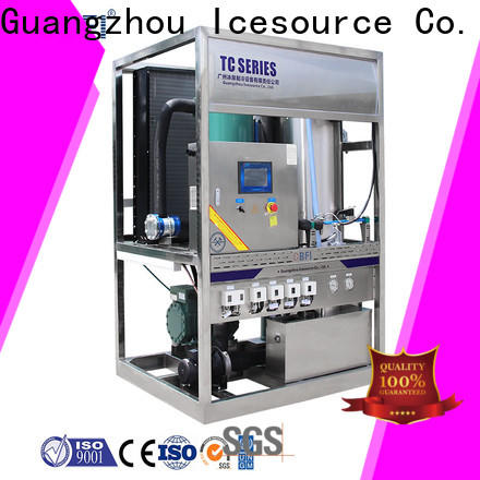 CBFI durable ice maker machine producer for aquatic goods