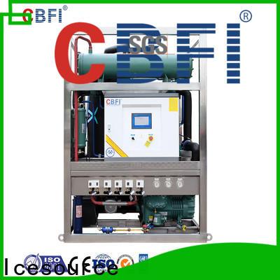 CBFI commercial ice machine owner for aquatic goods
