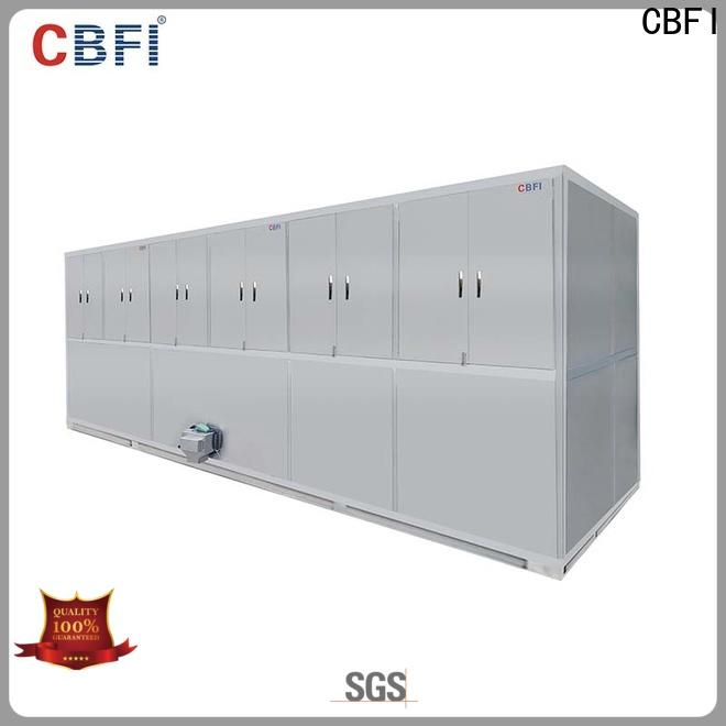 CBFI high reputation cube ice maker factory price for vegetable storage