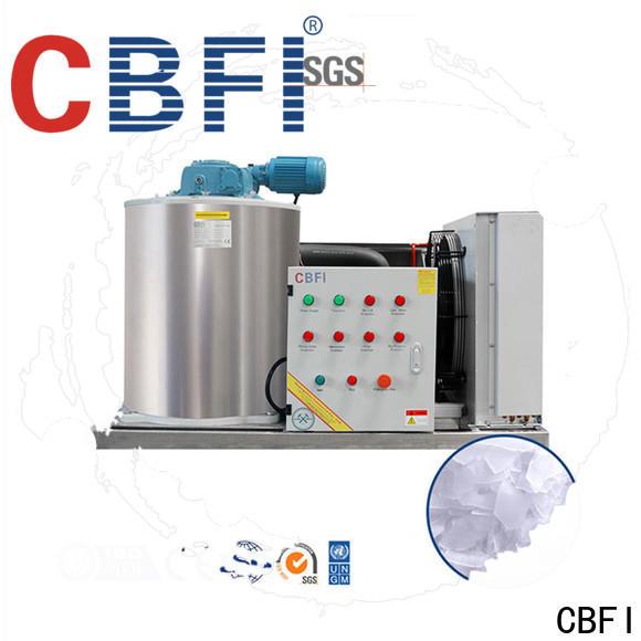 CBFI high-quality ice flake bulk production for supermarket