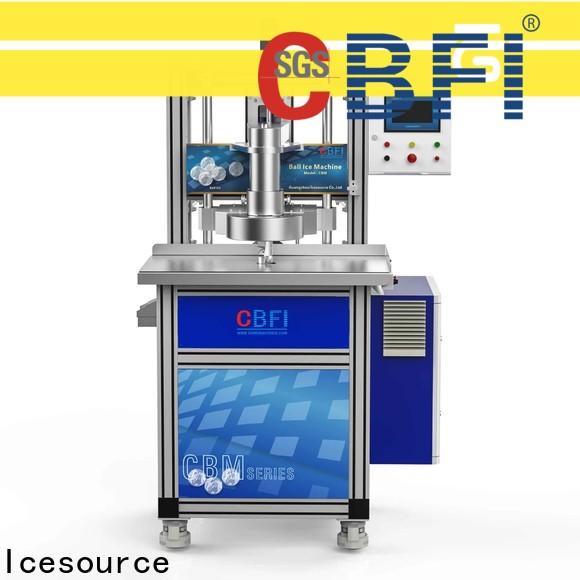 CBFI consumption bulk production for ice bar