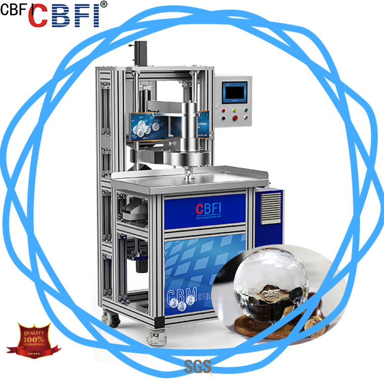 CBFI high-end plug in ice maker order now for whiskey