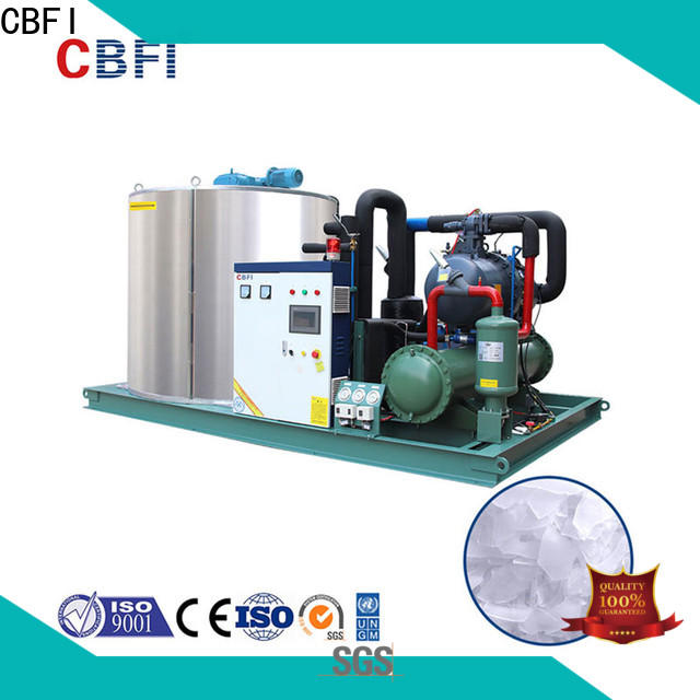 newly flake ice makers commercial cbfi vendor for water pretreatment
